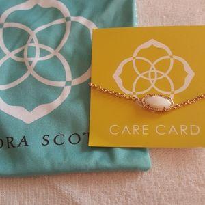 Kendra Scott Elaina Rose gold/white pearl